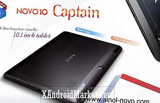 Ainol Novo 10 Captain Tablet Unveiled - Quad-core CPU, Jelly Bean och 1920 x 1200 pixlar resskärm för $ 213