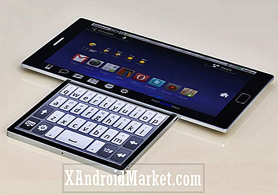 Android Smartphone Concept Functies Roterende Twin Displays