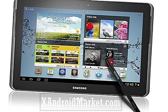 Samsung Galaxy Note 10.1 à un processeur quad-core?