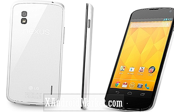 White Nexus 4 arrive au Google Play Store aux États-Unis