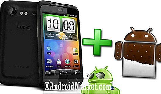 HTC Incredible S Ice Cream Sandwich uppdatering rullar ut nu
