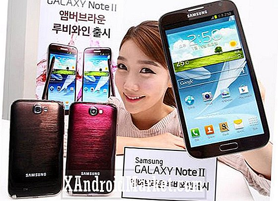 Samsung outs Ruby Wine og Amber Brown Galaxy Note 2 udgaver i Korea