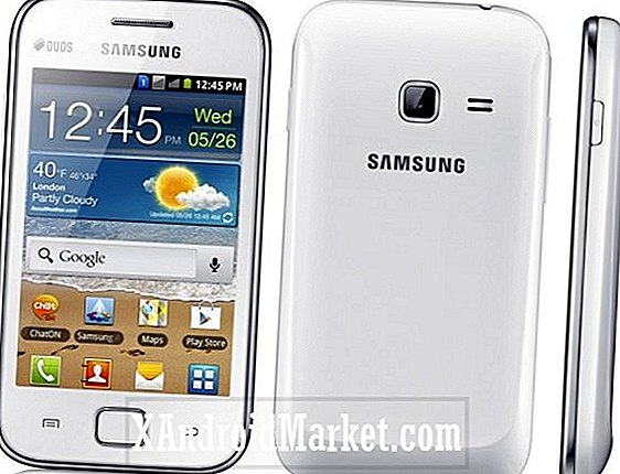 Samsung Galaxy Ace Duos ud i Storbritannien starter omkring $ 300