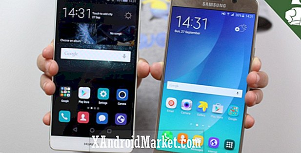 Samsung Galaxy Note 5 vs Huawei Mate S - snelle uitstraling