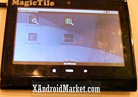 MagicTile-tablet uit India pakt Froyo nog steeds in