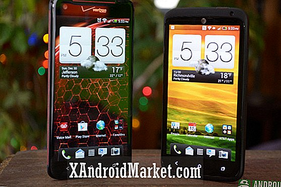 HTC Droid DNA vs HTC One X + [video]
