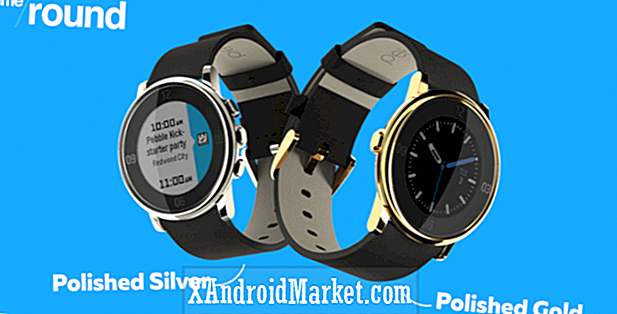 Pebble Time Round ahora disponible en oro pulido y plata