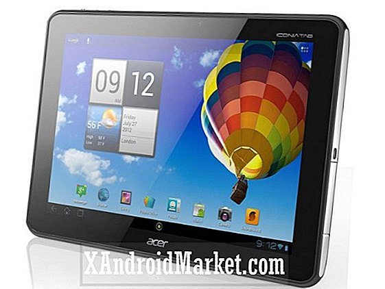 Vista previa: tableta Android IconiaTab A510 de Acer (disponible para pre-pedido hoy)