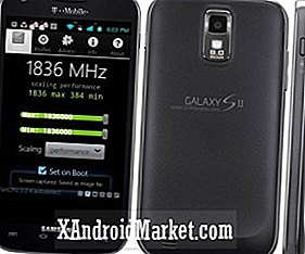 T-Mobile Samsung S2 Galaxy Overclocked til 1,8 GHz