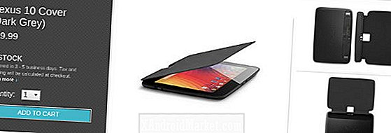 Fundas oficiales Nexus 10, ya disponibles.