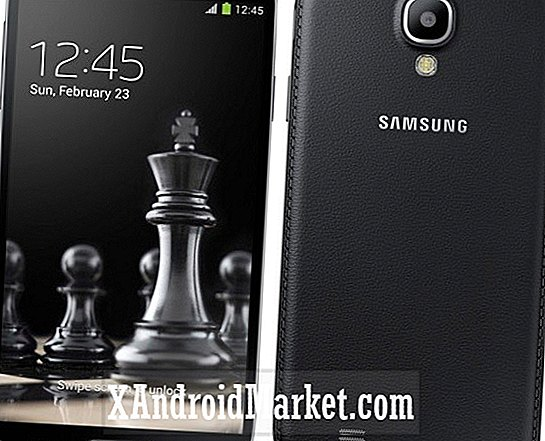 Samsung lance le Galaxy S4 Black Edition avec une finition en simili cuir de type Note 3