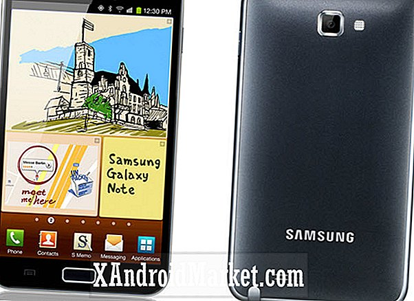 La actualización de Telus Samsung Galaxy Note Jelly Bean estará disponible en mayo