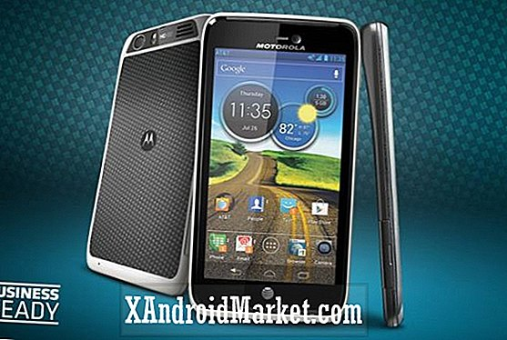Test de trempage Motorola Atrix HD entrant, pourrait être Android 4.1 Jelly Bean