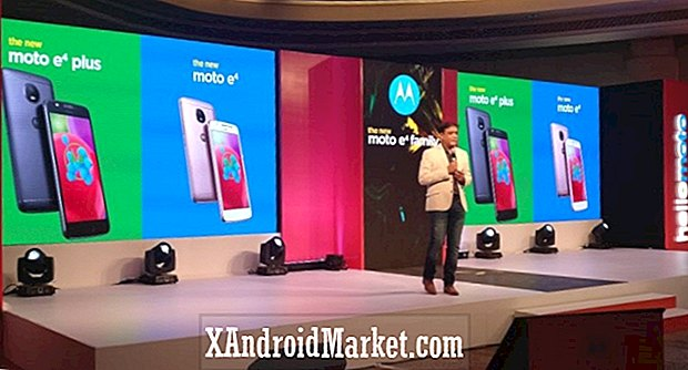 Moto E4 en Moto E4 Plus gelanceerd in India