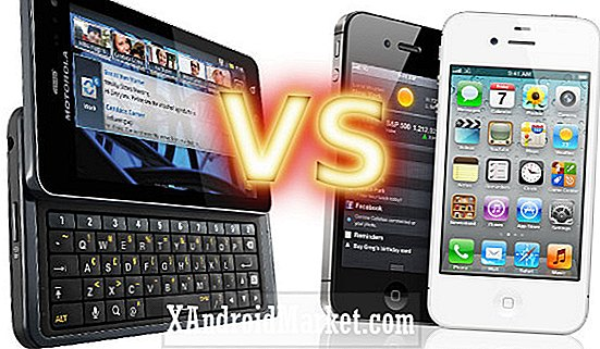 Motorola Droid 3 vs iPhone 4S 16GB