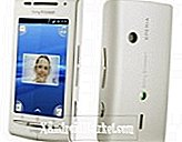 Android 2.1 voor Sony Ericsson Xperia X8