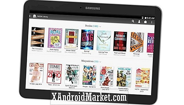 Samsung en Barnes & Noble introduceren Galaxy Tab 4 NOOK 10.1