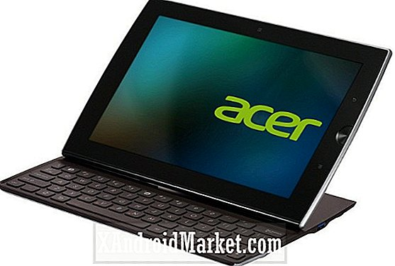 Acer Planning glijdende Android-tablet
