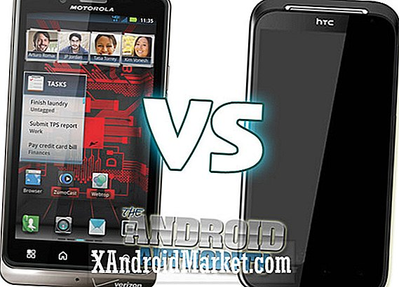 Motorola DROID Bionic vs HTC Rezound (HTC Vigor)