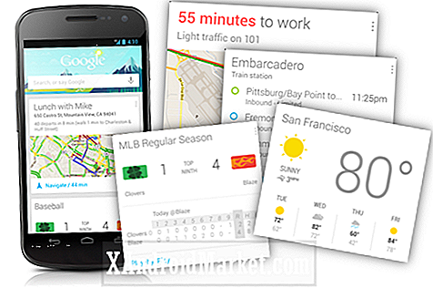 Google Now lance pour Android 4.1