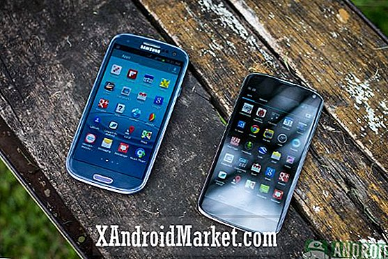 Samsung Galaxy S3 contre Google Nexus 4