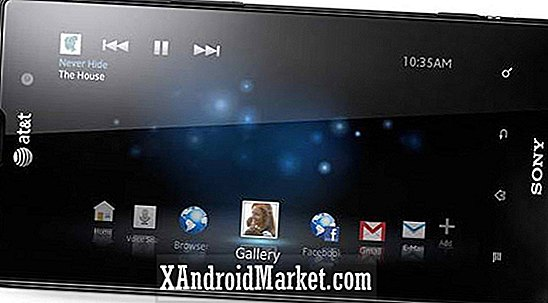 Sony Xperia Ion onthuld op CES 2012