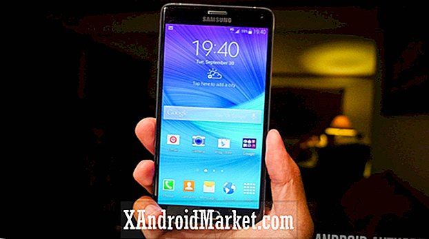 Marshmallow Lands for Galaxy Note 4 i Indien