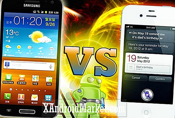 Samsung Galaxy S2 HD LTE vs Apple iPhone 4S