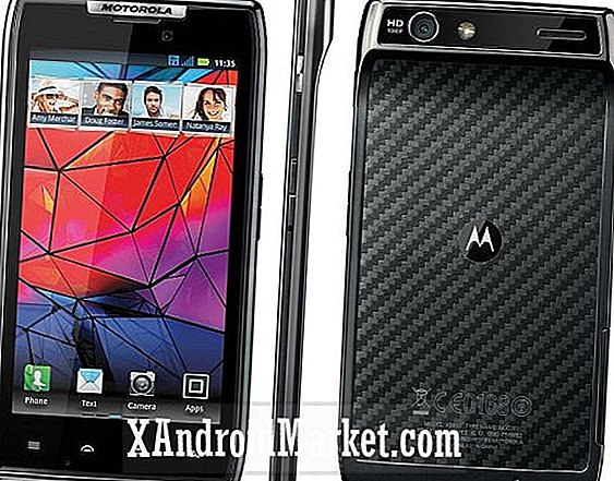 Super affaire d'Amazon: le Motorola Droid Razr se vend maintenant pour un sou