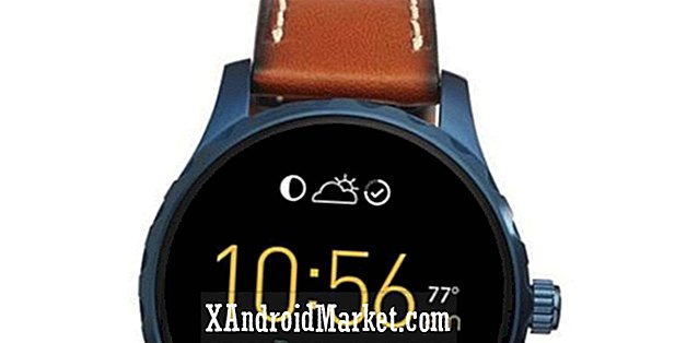 Fossil muestra 2 dispositivos Android Wear, 5 wearables adicionales