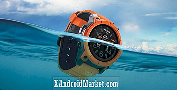 Nixon Mission Android Wear watch på Amazon for $ 400