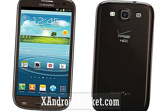 Le Samsung Galaxy S3 Amber Brown et Black de Verizon est maintenant en vente