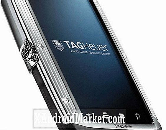 Tag Heuer présente son smartphone Android