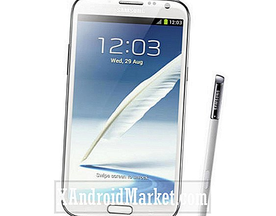 AT & T Galaxy Note 2 släpp datum för 21 oktober?
