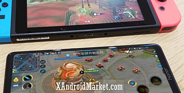 Honor Note 10 lækkede billeder viser massiv Nintendo Switch-dwarfing display