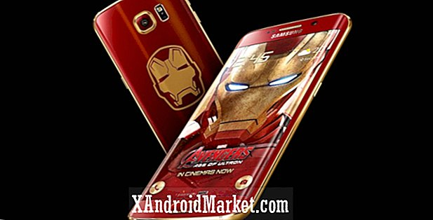 De Galaxy S6 Edge Iron Man-editie is geland, bekijk de unboxing-video
