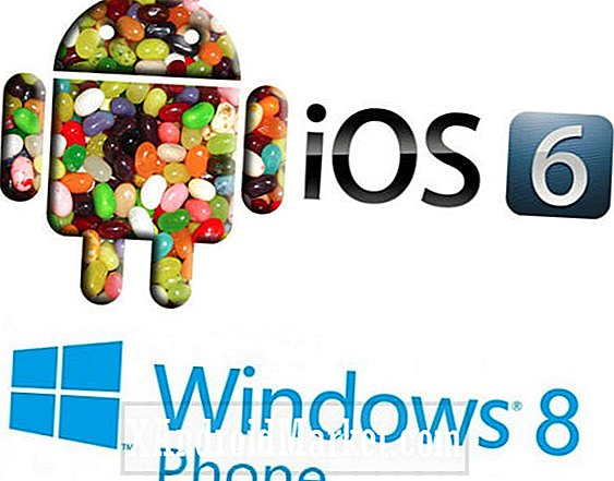 Android 4.1 Jelly Bean vs iOS 6 vs Windows Phone 8