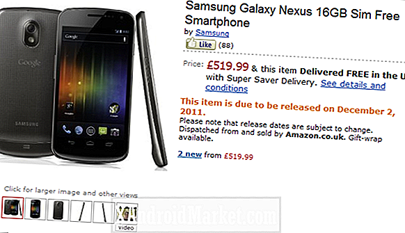 Galaxy Nexus UK Arrival Derailed