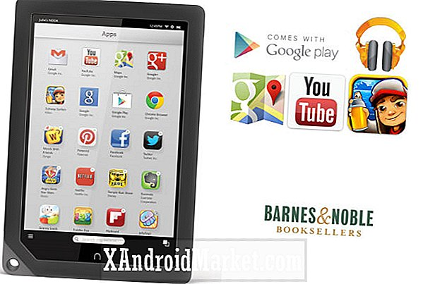 Nook goes as B & N voegt Google Play-ondersteuning toe