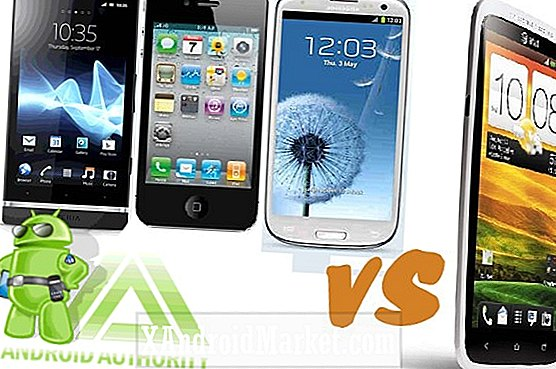 Sony Xperia S vs Apple iPhone 4S vs Samsung Galaxy 3 vs HTC One X: ¡Lucha con la cámara!