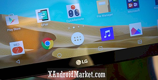 AT & T LG G Pad X 10.1 får Android Marshmallow opdateringen