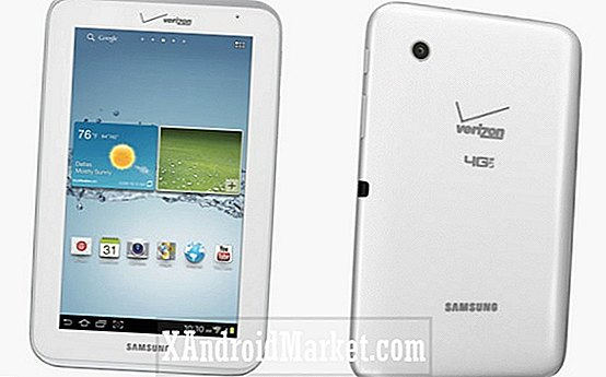 Verizon Wireless Cyber ​​indeholder en $ 99 Samsung Galaxy Tab 2 7.0