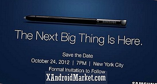 Samsung Galaxy Note 2 US launch party gepland voor 24 oktober