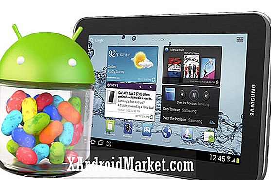 Er Samsung rullende ud Jelly Bean's opdatering til Galaxy Tab 2 7.0?