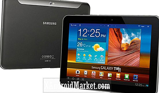 Android 4.0 ICS oppdatering på Samsung Galaxy Tab 8,9 WiFi i USA