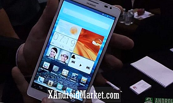 CES 2013: primer vistazo de Huawei Ascend Mate (video)