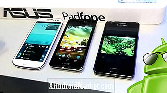 Computex 2012: Samsung Galaxy S3 vs Asus Padfone vs Samsung Galaxy S2 (video)