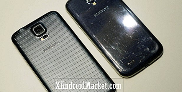 Samsung Galaxy S5 vs Galaxy S4 hurtig look (MWC 2014)