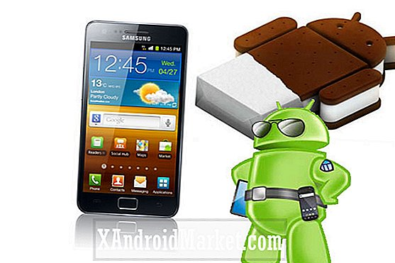 Samsung Israel Outs Galaxy S2 Android 4.0 Udgivelsesdato: 15. marts