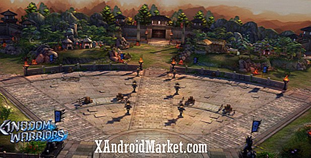 Kingdom Warriors is een 3D cross-platform mobiele MMORPG met RTS-elementen